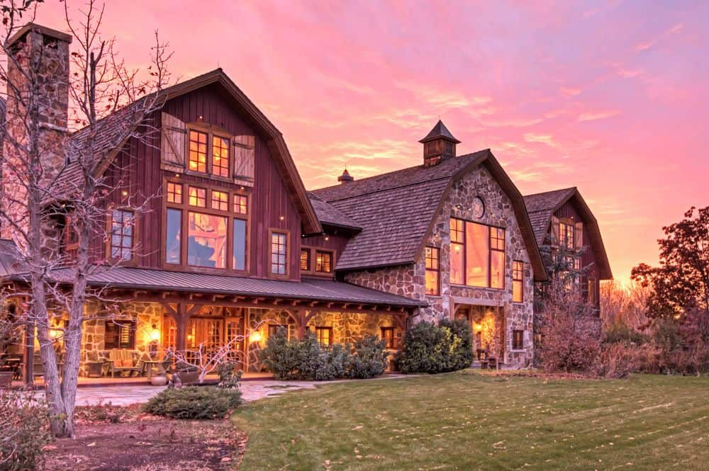 Must see greatest barn on planet cost 32m to build now Cost to build a house in utah