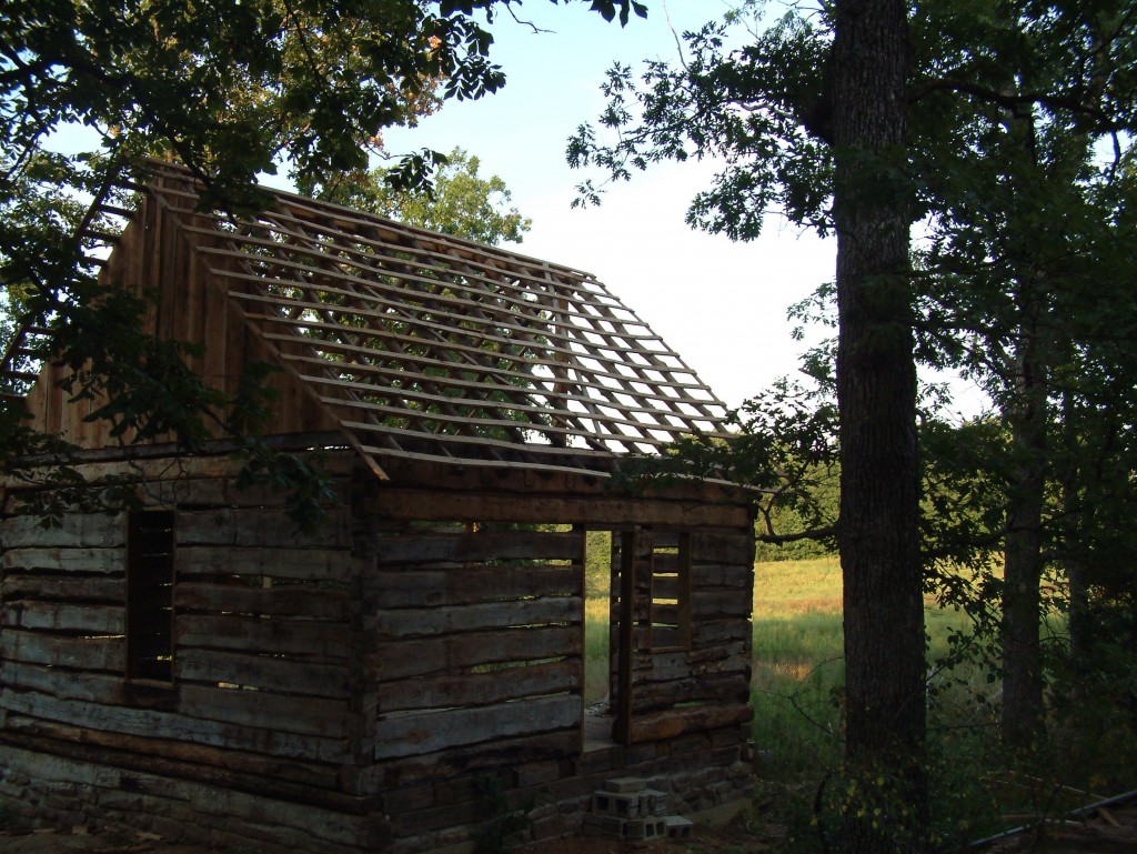 Retiree discovers cabin from the 1830 39 s see his awe for Richard aiken cabin
