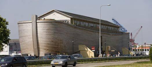 Noah's Ark Replica, Johan's Ark, Crashes into Moored Coast ...