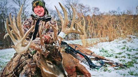 23-point 244-inch Monster Whitetail arrowed in Iowa