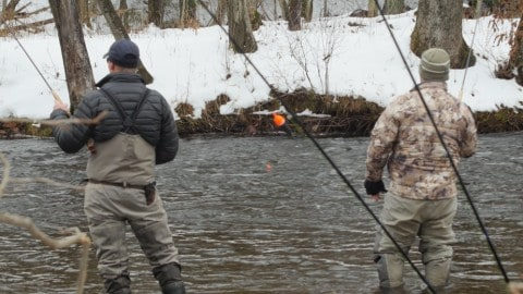 The Extreme Cold, Despair, and Fishery Experimentation of New York's Salmon River