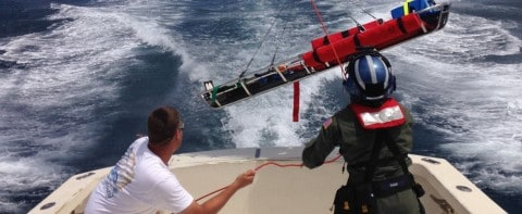 Heroic rescue at sea caught on film