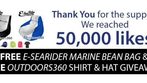 Outdoors360 E-Sea Rider marine bean bag & apparel giveaway!