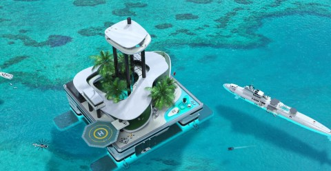 Mobile island: Step one in becoming a Bond villain