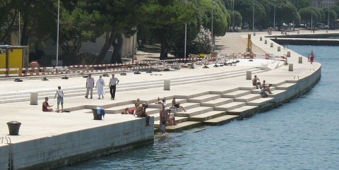 """""""Sea Organ"""" Makes Enchanting Music With Wind and Waves"""