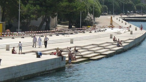"""Sea Organ"" Makes Enchanting Music With Wind and Waves"