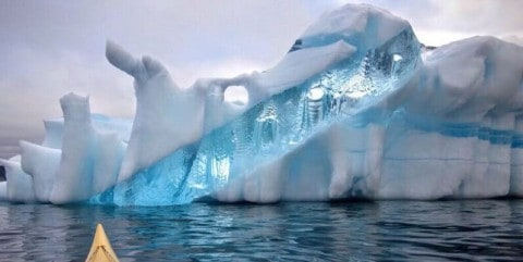 Mind-Blowing Iceberg Photographed in Newfoundland