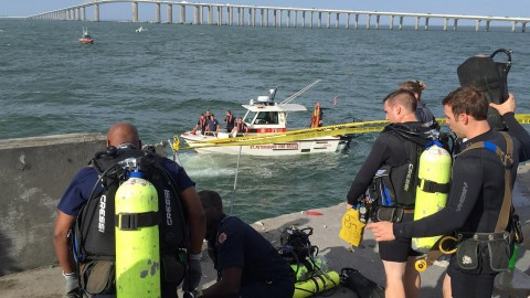 Driver Dies After Car Speeds Off Skyway Fishing Pier