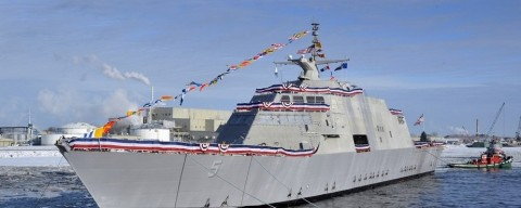 $362 million brand new Navy ship needs to be towed…awkward