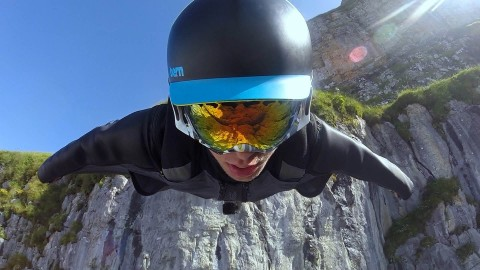 Insanely Dangerous Wingsuit Video Will Put Knots in Your Stomach
