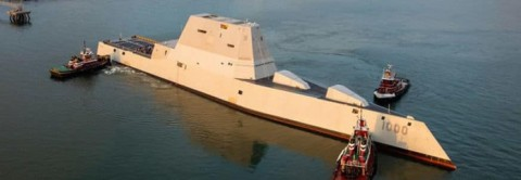Fisherman Rescued by Stealth Warship – The Zumwalt Destroyer