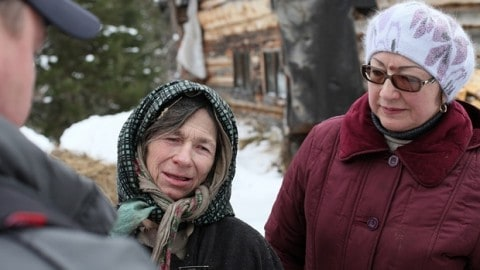 Woman Who Survived 70-Years in Siberian Wilderness Airlifted to Hospital