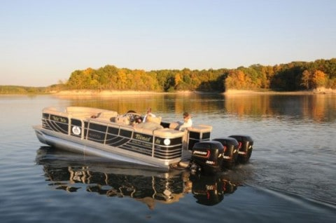 The World's Fastest Pontoon Boat Goes an Insane 114 MPH!
