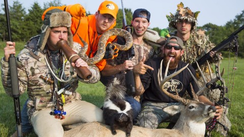 Dude Perfect Nails Hysterical Hunting Stereotypes