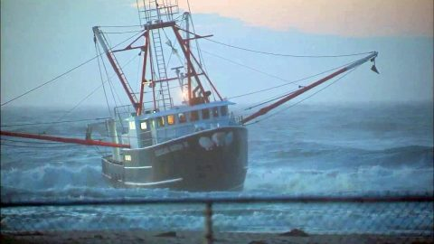 Fishing Boat Runs Aground, Coast Guard Vessel Flips Trying to Save It