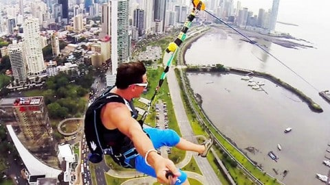 World's Largest Urban Zipline Video is a Guaranteed Adrenaline Rush