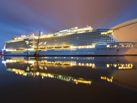 Royal Caribbean Ship Has Wild Ride in Massive Storm