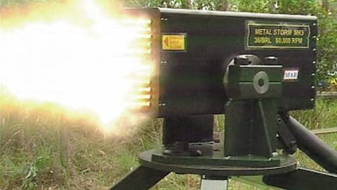 Video: Fastest Gun in the World Fires 1 Million Rounds a Minute