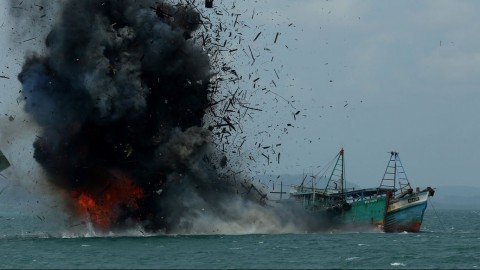 Indonesia Blows Up Illegal Fishing Boats Because It Can