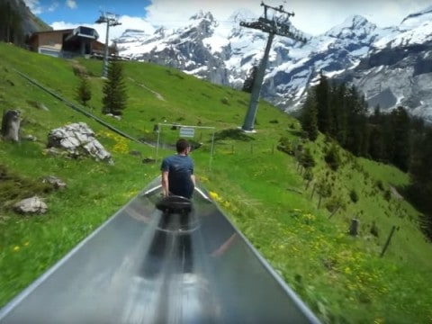 This 'Mountain Coaster' Video is Beyond Awesome