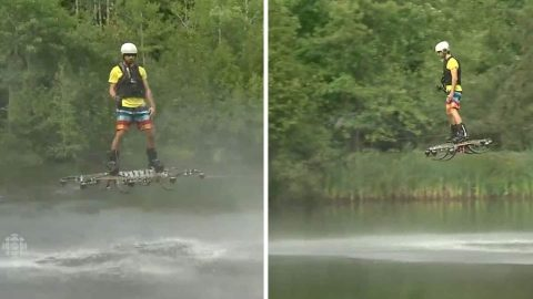 Ridiculously Awesome Hoverboard Created
