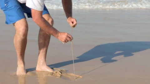 How to Catch Beach Worms
