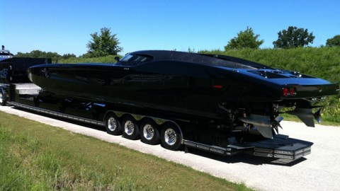 Corvette Power Boat is 2700 HP of Pure Speed, Muscle, and Money