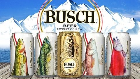 Busch Releases 'Fish Cans' and Chance To Win Once-In-A-Lifetime Fishing Excursions