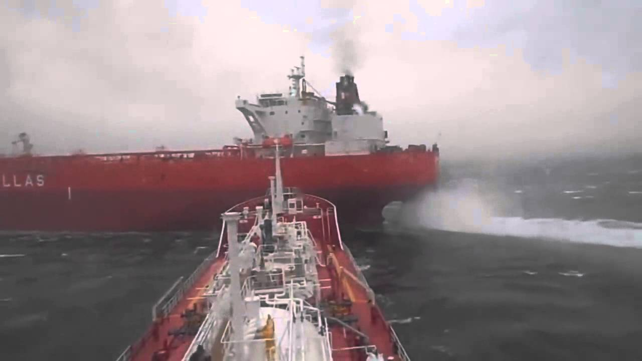 Two Ships Near Collision Caught On Camera Outdoors360