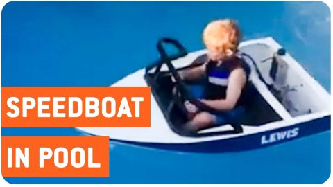 Best Childs Toy Ever I Mini-Speed Boat