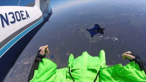 Man Paralyzed From Mid-Air Skydiving Collison On GoPro Wants to Fly Again