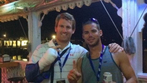 Guy Enters Fishing Tournament, Loses Finger to Shark and Still Wins Thanks to a Massive Swordfish