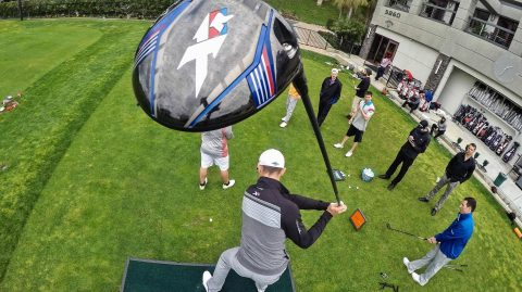 These Long Drive Trick Shots Will Make You Want to Give up on Golf Forever
