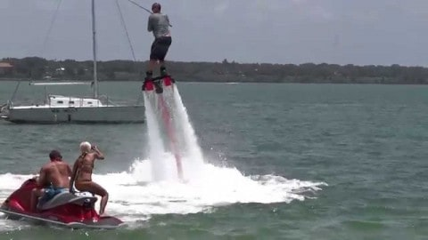 Flyboard Fishing Results in a Crazy Snook Catch