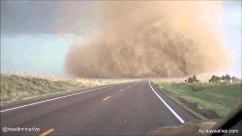 Totally Insane Tornado Video Proves Storm Chasers Have No Fear
