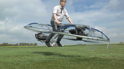 Homemade Hoverbike Video Breaks Internet With Awesomeness