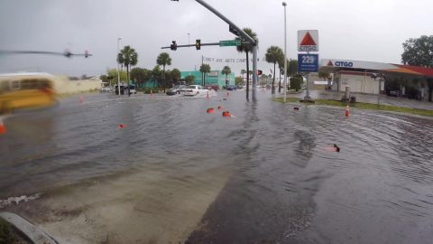 Officials Pumping Sewage Into Tampa Bay After System Overload Due to Tropical Storm