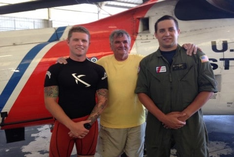 Florida Fisherman Rescued After Treading Water for 20 Hours