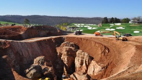 Massive Sinkhole at Golf Course Reveals Underground Wonderland