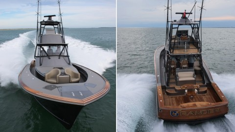 The New 46′ Jaw-Dropping Custom Grander Will Give You Serious Boat Envy
