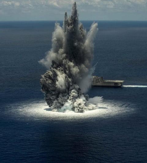 'Earthquake' off Florida Coast Was Actually Navy Explosives Testing