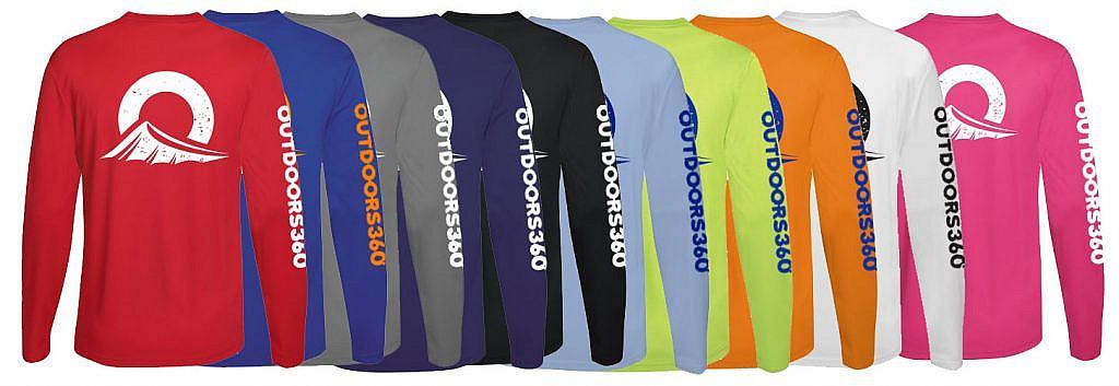 Outdoors360 shirts