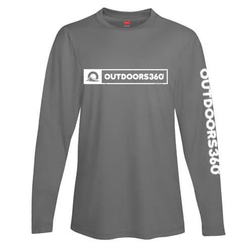 Outdoors360 gray shirt