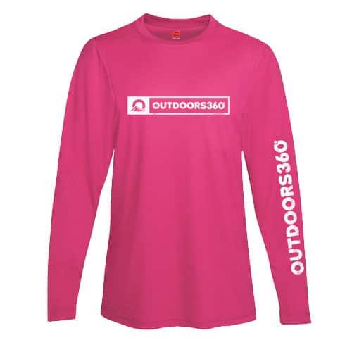 Outdoors360 Pink Shirt