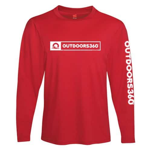 Outdoors360 Red Shirt