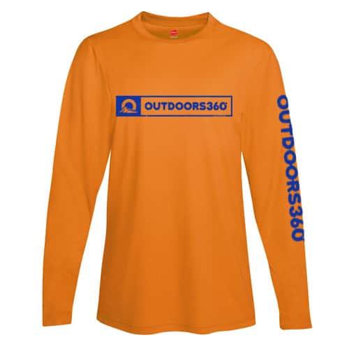 Outdoors360 Orange Shirt