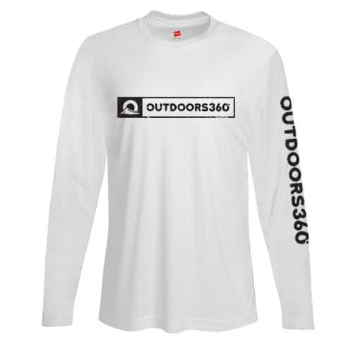 Outdoors360 white shirt