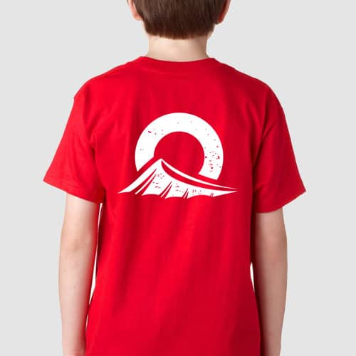 Outdoors360 Youth Shirt Back