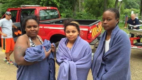 3 Women Stranded on River for 21 Hours After Tubing Trip