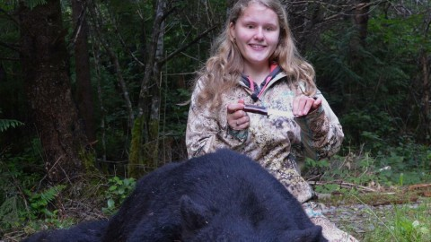Blind Teenager Shoots 300-Pound Black Bear